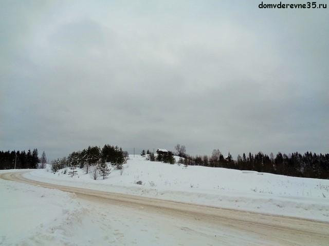 зимнее фото деревни