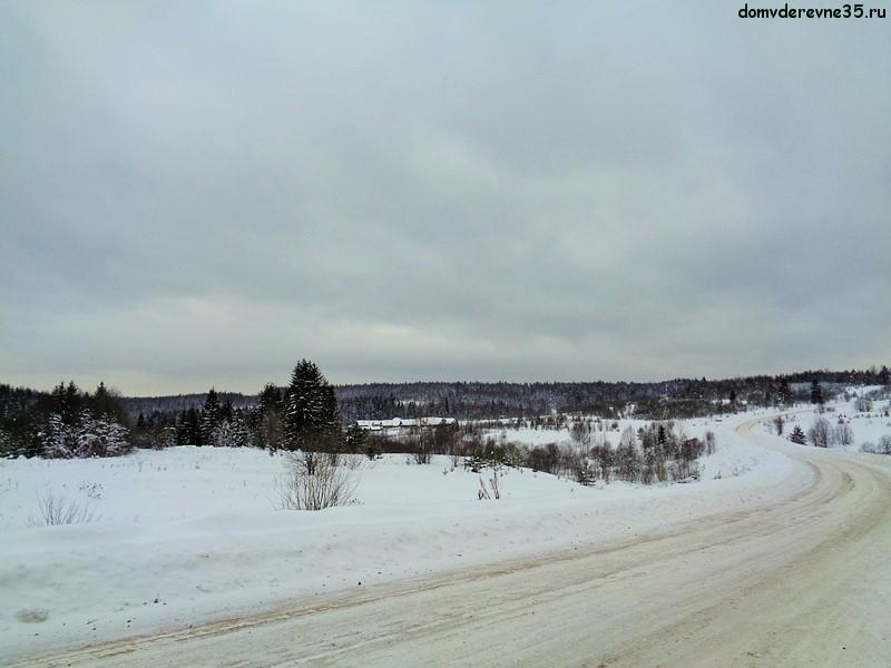 фото северной деревни
