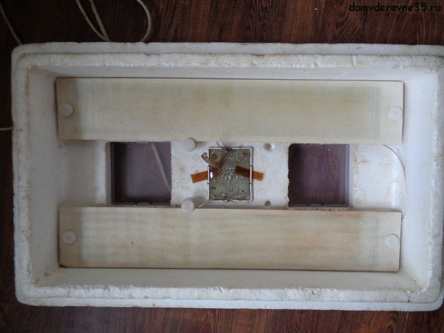 устройство пенопластового инкубатора