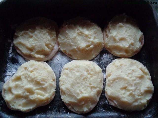 тесто для картофельных шанег