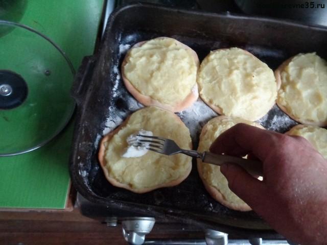 картофельные шаньги рецепт с фото